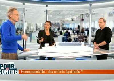 Homoparentalité : des enfants déséquilibrés ? – Pour ou Contre RTL-TVI