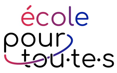 COLLOQUE « UNE ECOLE POUR TOU·TE·S » – Les actes (suite)